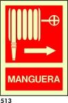 Señal 513 - Fotoluminiscente