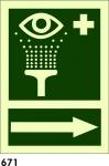Señal 671 - Fotoluminiscente