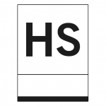 Placa Hostal blanca - Placa Hostal aluminio blanco