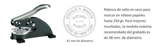 Palanca sello en seco ED 41 mm. -