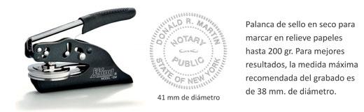 Tenaza sello en seco EM 41 mm.  -