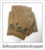 Sellos para bolsa de papel
