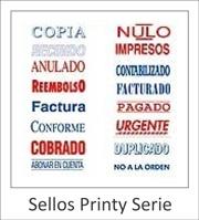 Sellos Printy Serie