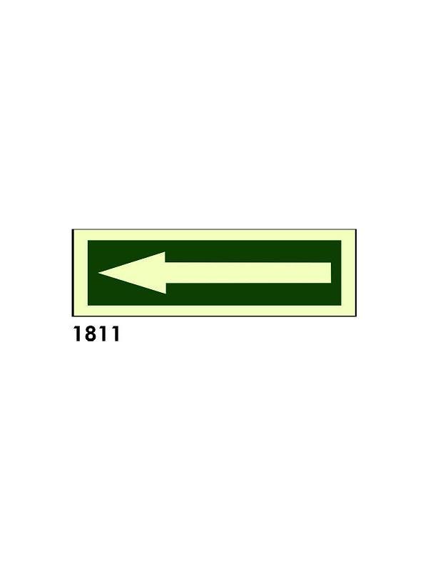Señal 1811 - Fotoluminiscente