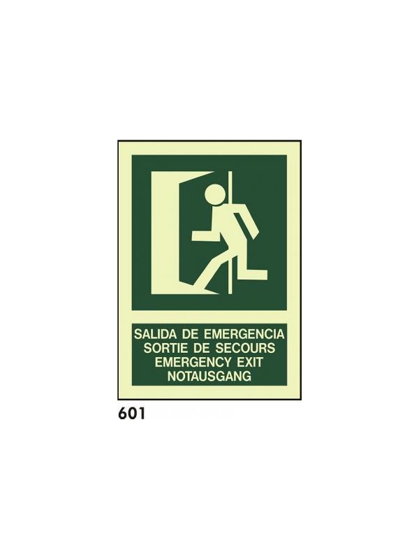 Señal 601 - Fotoluminiscente