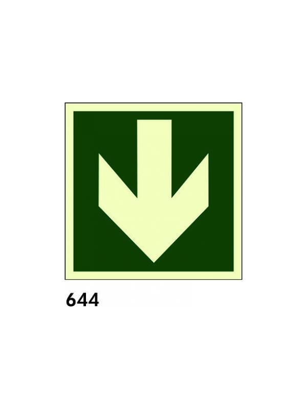 Señal 644 - Fotoluminiscente