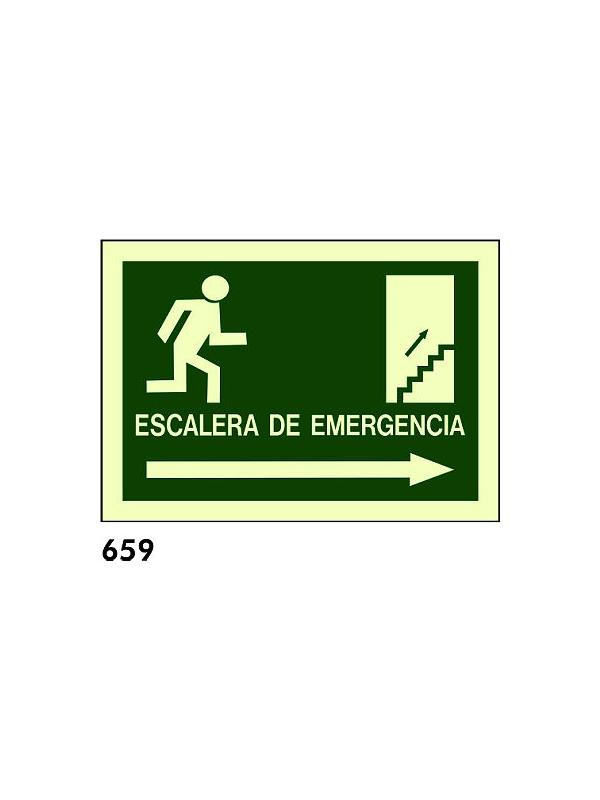 Señal 659 - Fotoluminiscente