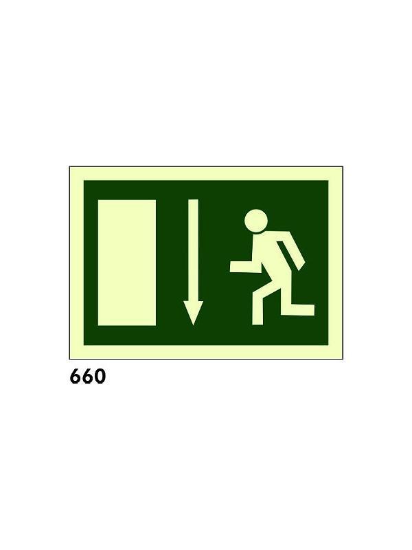 Señal 660 - Fotoluminiscente
