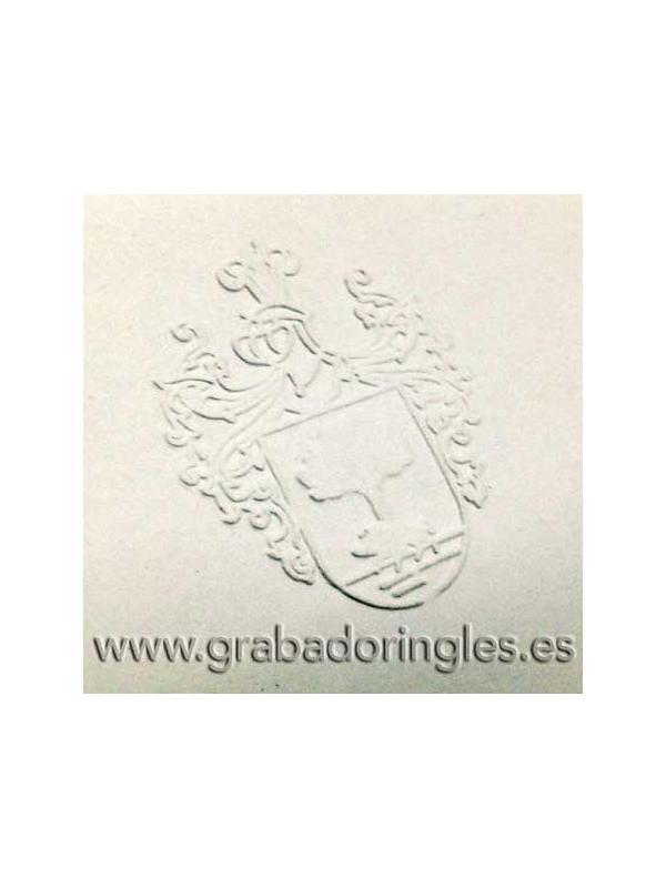 Palanca sello en seco Heavy Duty 50 mm. - Palanca sello en seco para marcar en relieve papeles de hasta 350 gr.