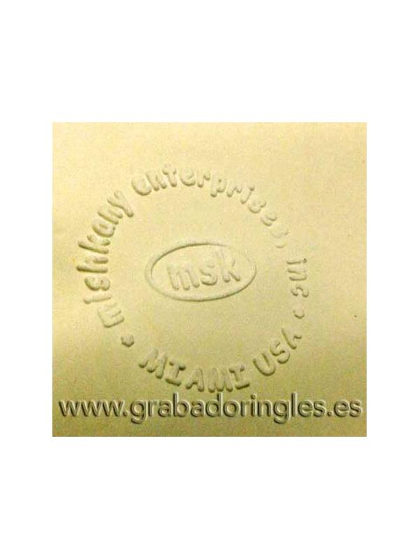 Palanca sello en seco ED 41 mm. - Palanca sello en seco para marcar en relieve papeles de hasta 250 gr.