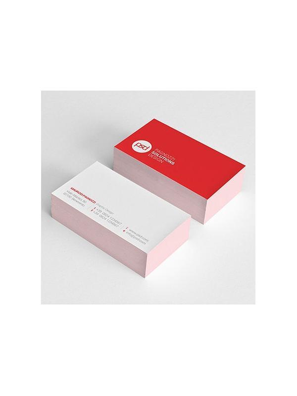 Tarjetas de visita - Tarjetas de visita online, alta calidad de impresión digital en cuatricromía. Medida standard normalizada de 8,5x5,4 cm, impresión por 1 cara o 2 caras, en cartulina gráfica estucada de 350gr. Plazo Producción: 2/3 días. Incluye un estuche de tarjetas gratis.