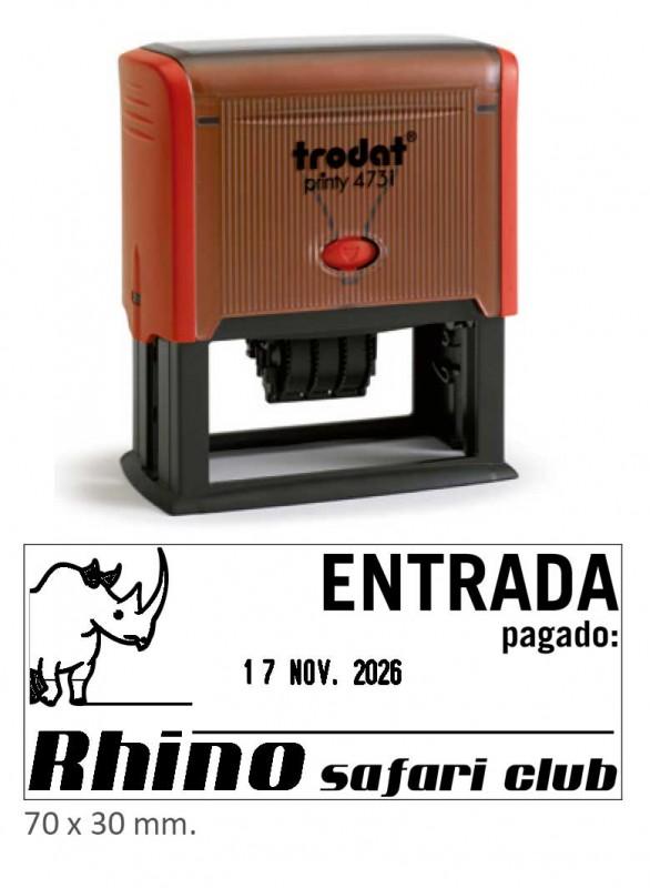 Fechador Printy 4731 - Medida: 70x30 mm.
